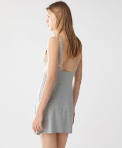 Oysho proper pajama gray nightdress