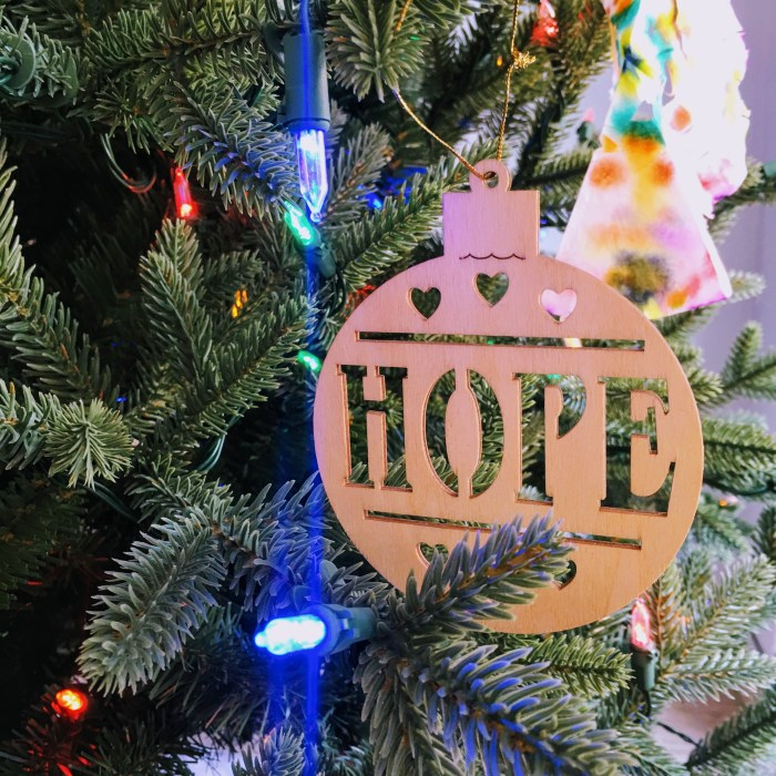 favorite Christmas ornaments Target hope