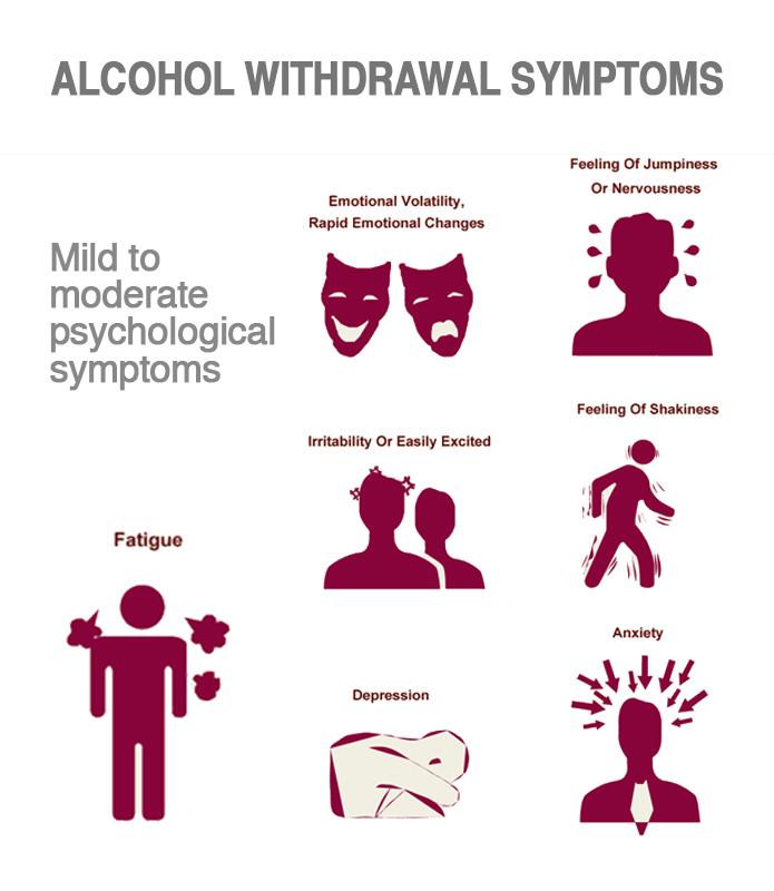 Alcoholism Effect Hands