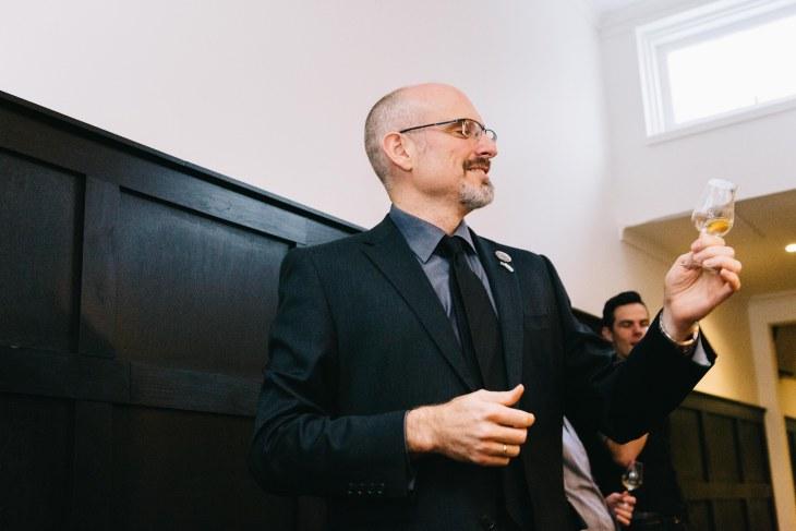 Andrew Derbidge of the Scotch Malt Whisky Society Australia and Whisky & Wisdom