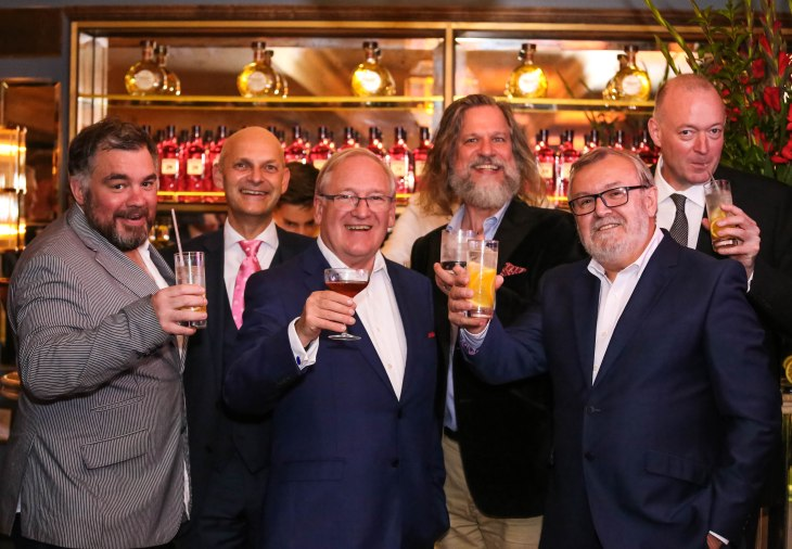 Beefeater Gin master distiller Desmond Payne celebrates 50 years in the gin industry