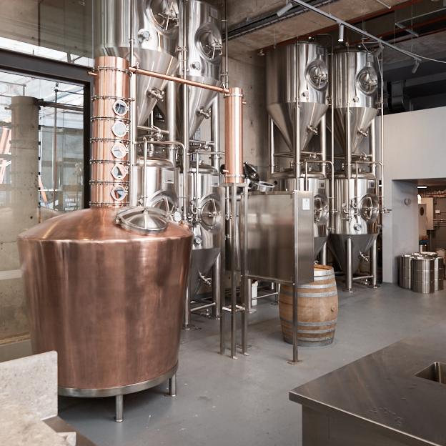 Brix Distillers, a rum distillery in Surry Hills, Sydney