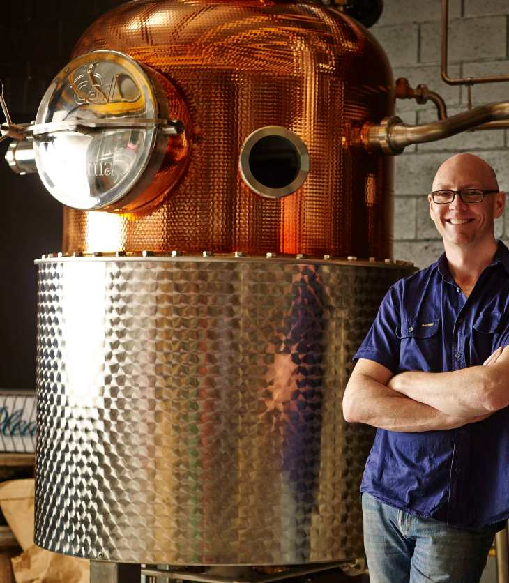 Four Pillars Gin head distiller Cameron Mackenzie