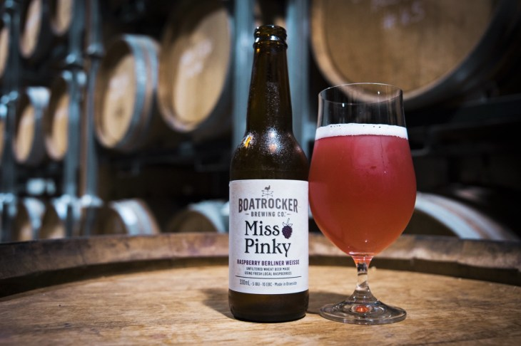 Boatrocker Miss Pinky Raspberry Berlinerweisse