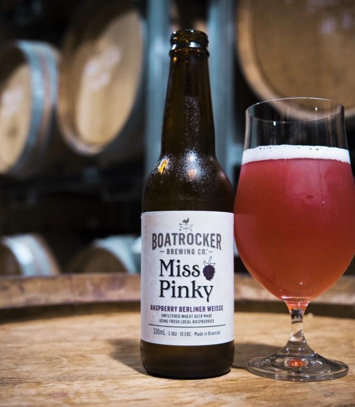 Boatrocker Miss Pinky Raspberry Berlinerweisse