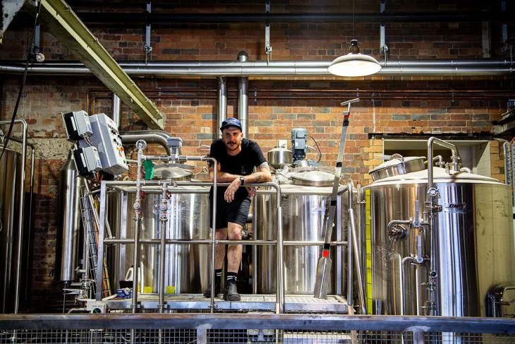 Stone & Wood Brisbane's resident brewer, Macca
