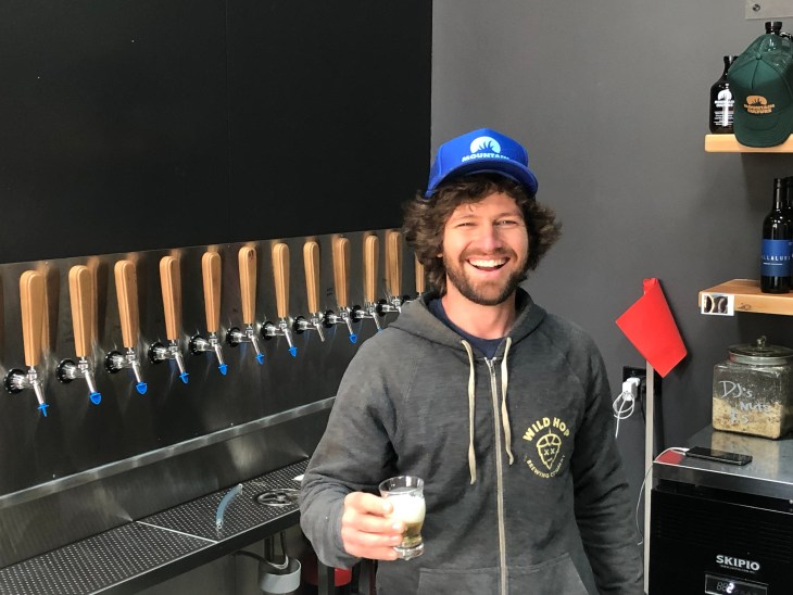 DJ McCready, founder of Blue Mountains brewery Mountain Culture