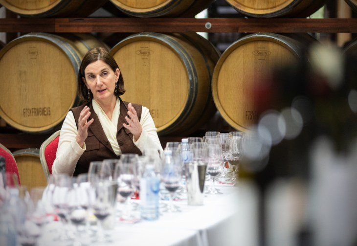Wynns Coonawarra Estate senior winemaker Sue Hodder at The Great Australian Red Masterclass