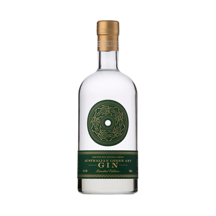 Green Ant Gin by Adelaide Hills Distillery and Something Wild