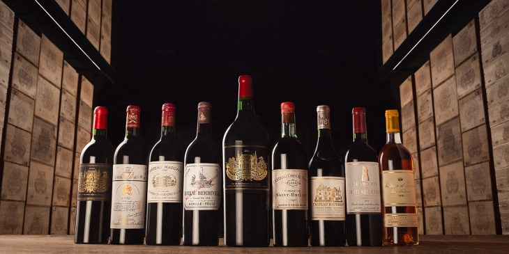 Bordeaux wine vintages selection by Mahler Besse