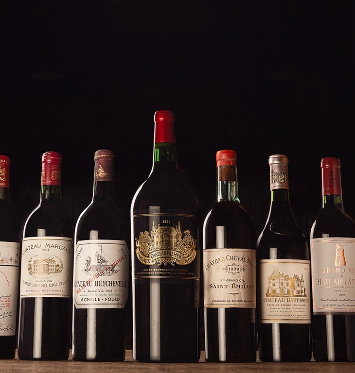 Bordeaux wine vintages selection by Mahler Besse