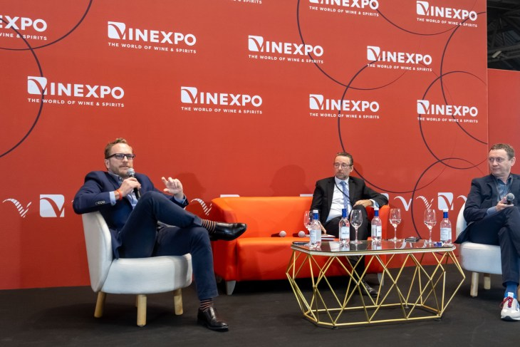 China wine and spirits market expert, Ian Ford pictured at Vinexpo