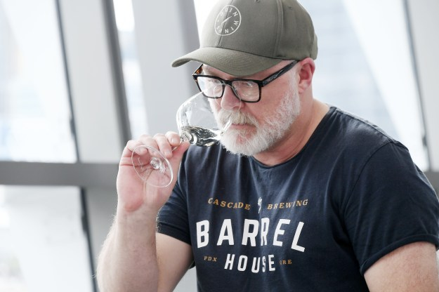Outgoing NSW Wine Awards chief judge, Dave Brookes