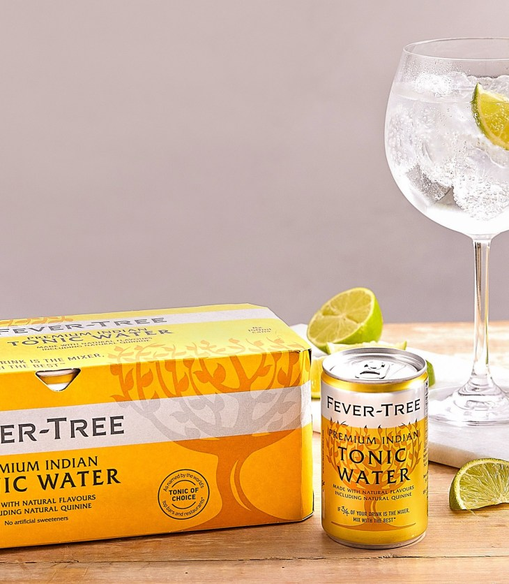 Fever-Tree Premium Indian Tonic Water cans