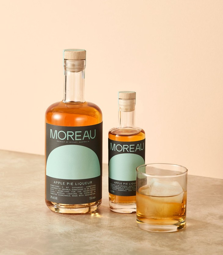 Moreau Apple Pie Liqueur by Mobius Distilling Co