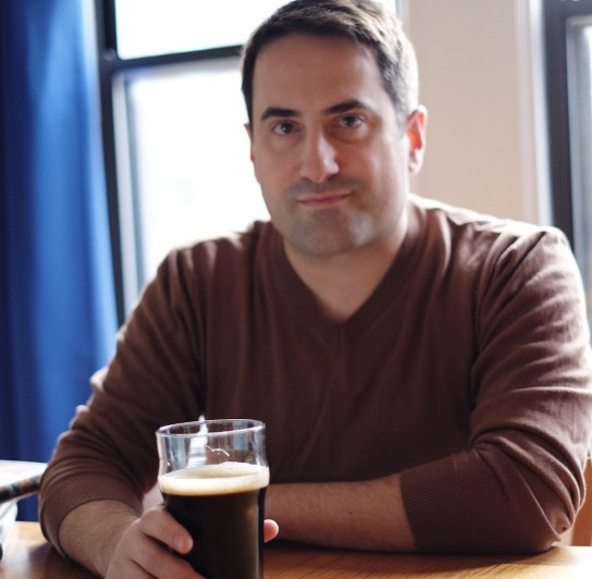 American beer writer Tom Acitelli – picture courtesy Saadia Sumrall