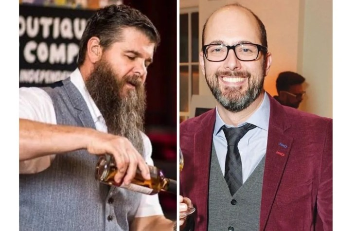 Dave Worthington and Sam Simmons of Boutique-y Whisky