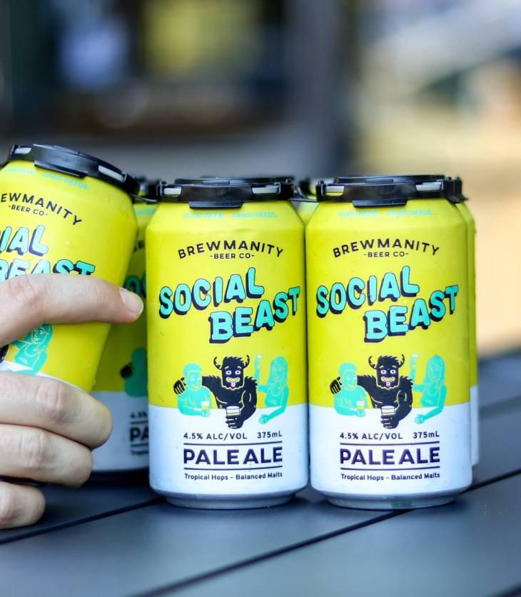 Brewmanity's Social Beast Pale Ale