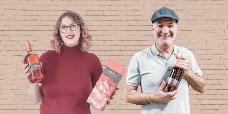 Emma Cookson and Larry Aronson of The Whisky List