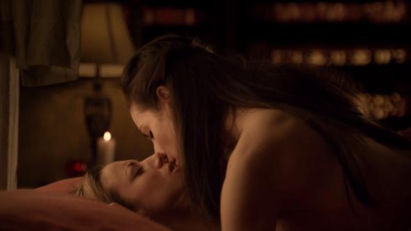 Bo and Lauren sexy scene in Vexed