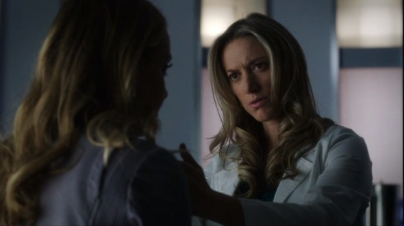 Lauren and Tamsin in clinic in Family Portrait