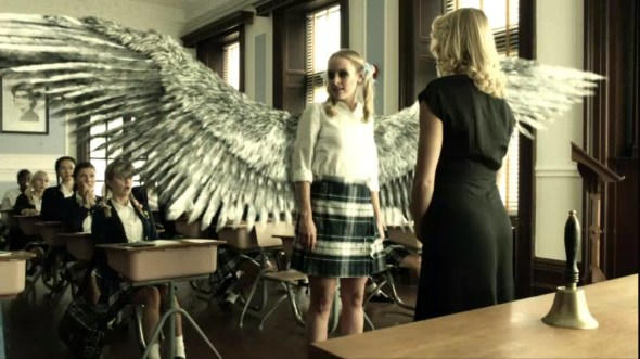 Tamsin with wings in Sweet Valkyrie High