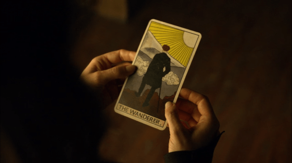 The Wanderer Tarot card in Those Who Wander