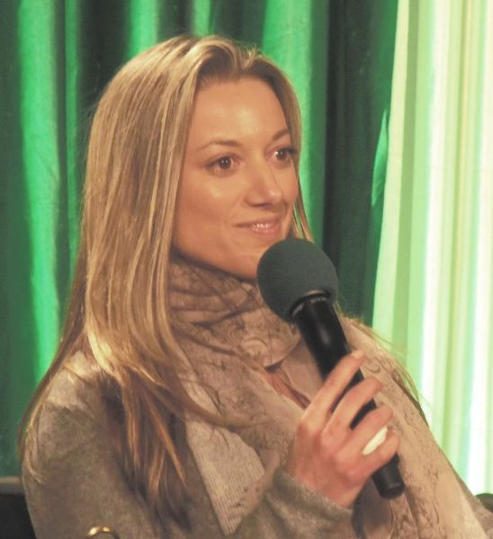 Zoie Palmer at ECCC 2014