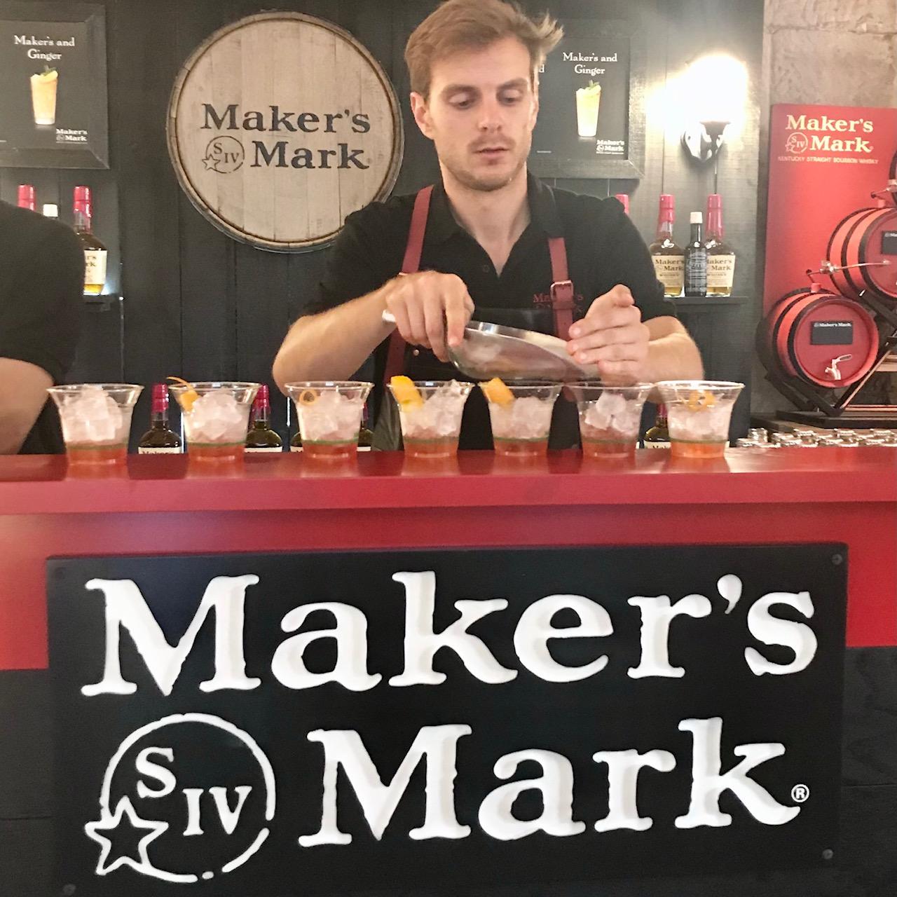 Whisk(e)y on the Rocks; Maker's Mark