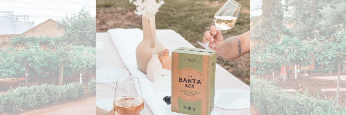 Calabria Family Wines; Banta Box