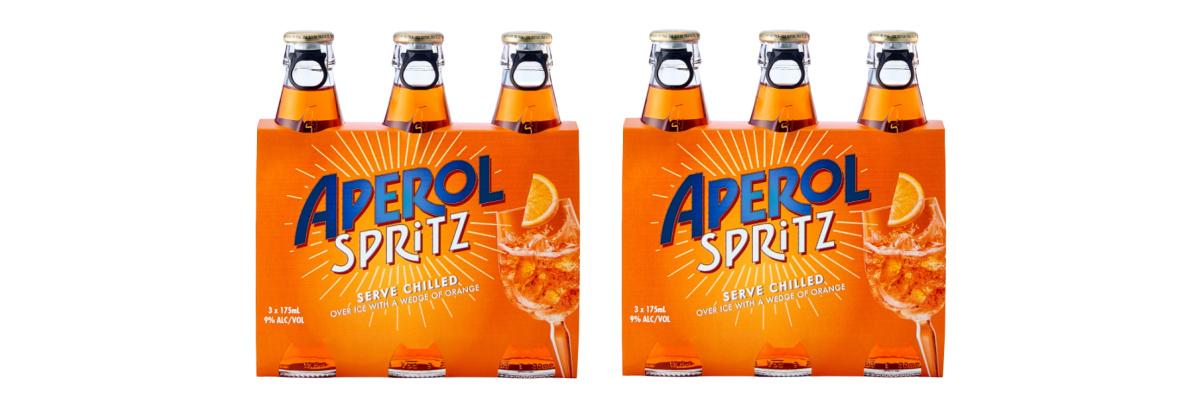 Aperol Spritz ready to serve