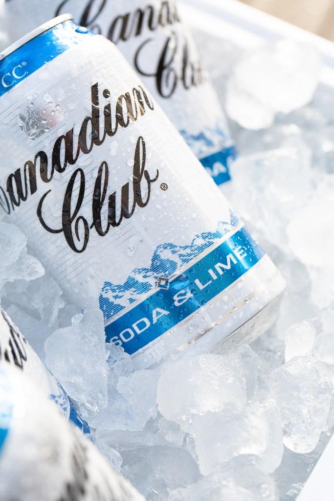 Canadian Club Soda & Lime