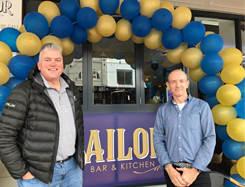 Roy McCullagh and Kieran Fitsall; The Sailor Bar