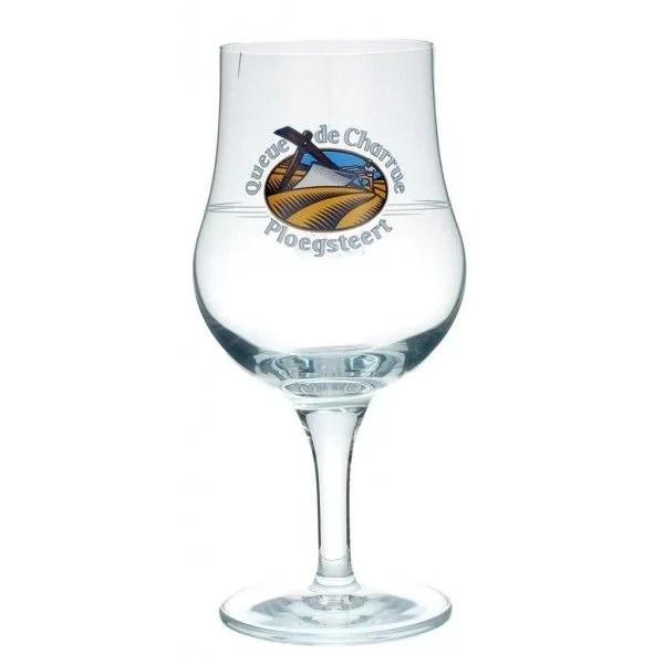 verre a bieres queue de charrue 33cl