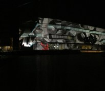 """Axioma"" 3D projection"