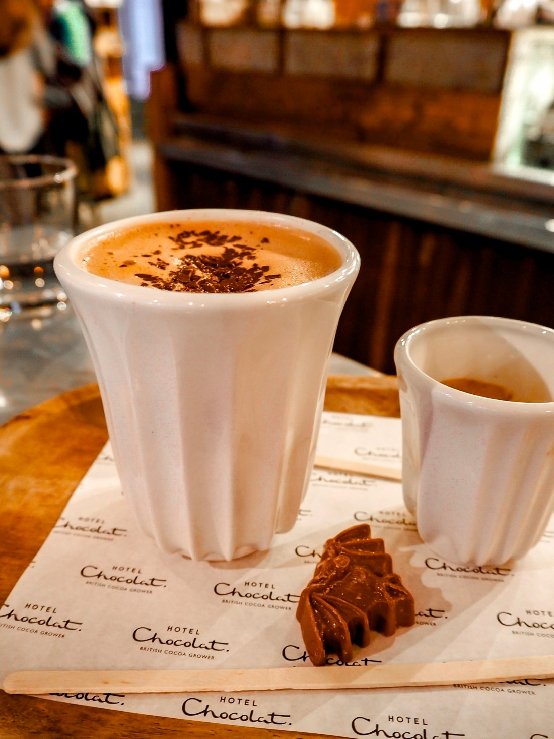 Hot chocolate in London