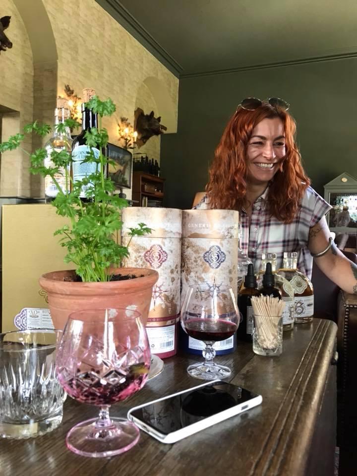 Drink with Emilie Cozens (Global Ambassador for Ferdinand's, Bonpland and doctor Polidori)