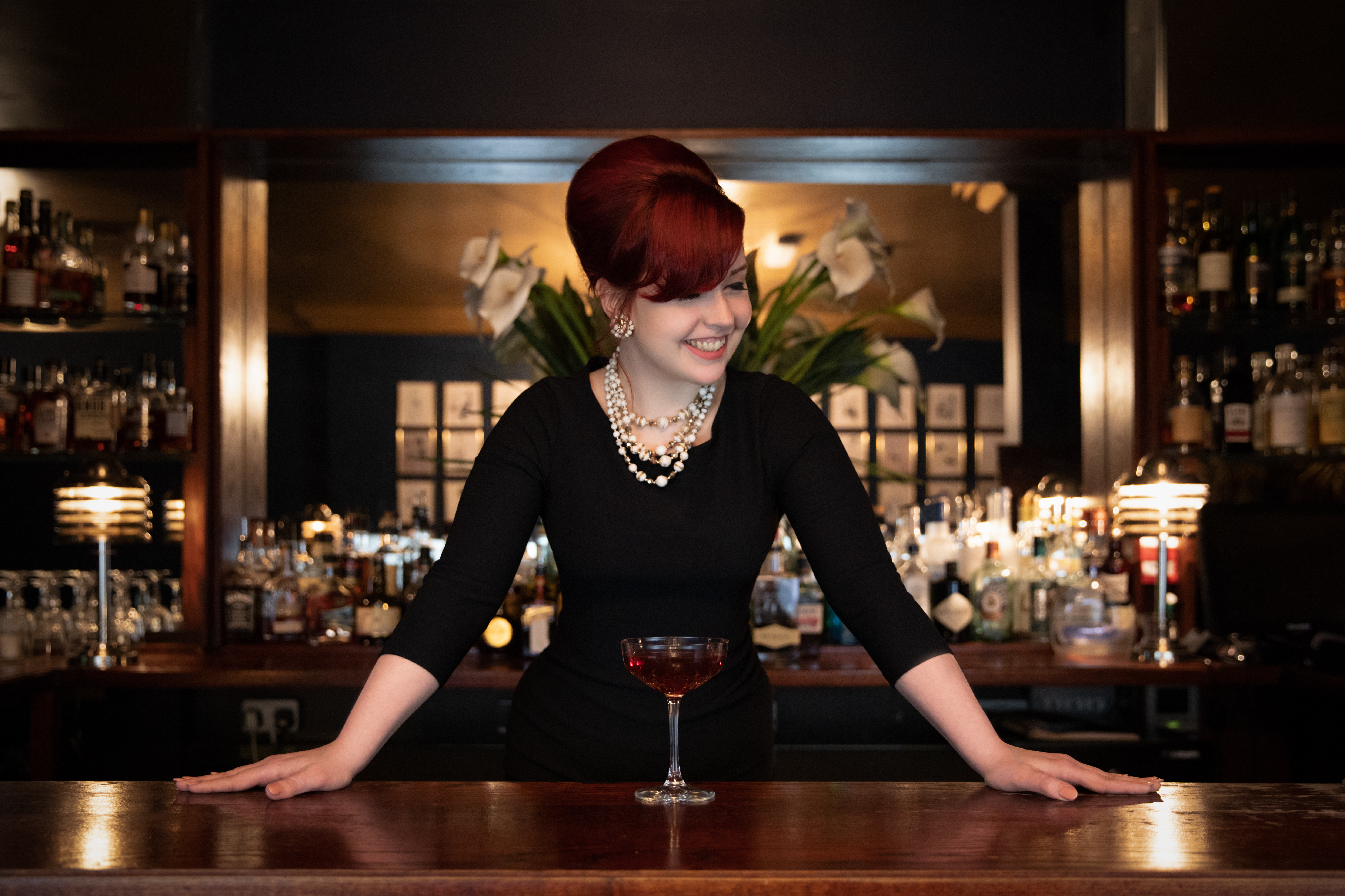 Drinks with Ruby Fontaine (Cocktail bar owner)