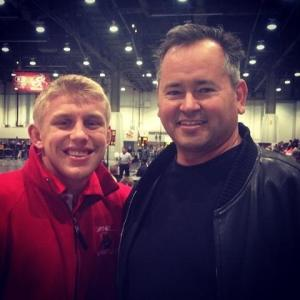 Smoke with Kyle Dake - Cornell Wrestling 2013