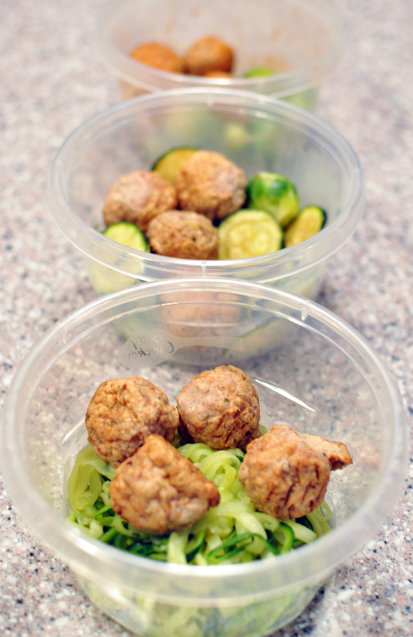 Meal Prep with Chicken Meatballs | One Target Trip, 3 Healthy Lunches!