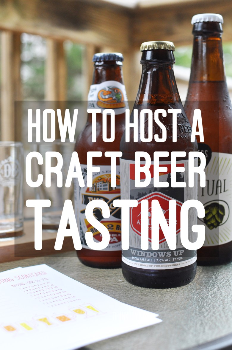 How To Host A Craft Beer Tasting