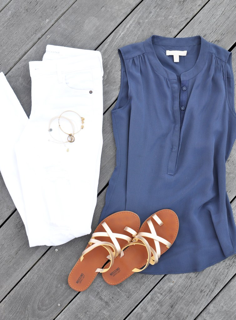 Flat Lay Friday | Nautical Navy - Drink the Day