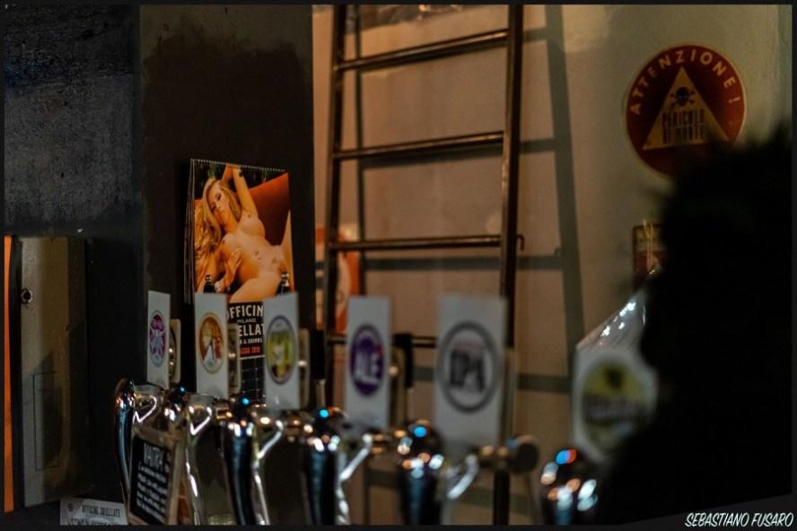 Le birre delle Officine Sbiellate