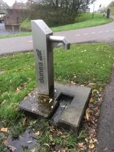 Gratis water tappen op straat