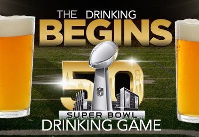 Super Bowl 50 Drinking Game