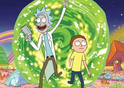 Rick and Morty Drinking Game