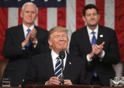 2018 Trump State of the Union Drinking Game