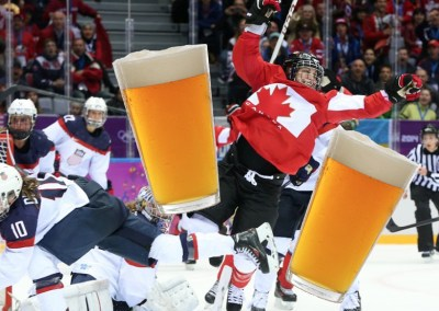 CAN vs. USA Olympic Women's Hockey Final Drinking Game