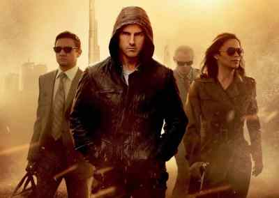 Mission: Impossible – Ghost Protocol (2011) Drinking Game