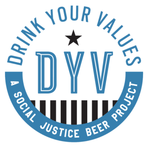blue logo favicon size for DYV social beer project